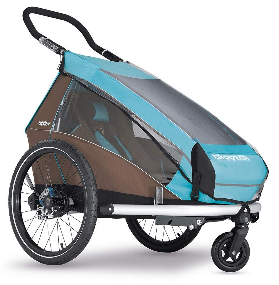 Croozer Kid plus 1 mit Regenverdeck