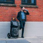 Messenger-Taschen oben und unten